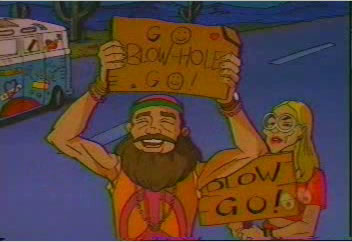 Hippies love blowhole